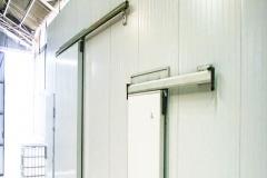 Puertas frigoríficas de abatir y  corredera / Alto trafico
